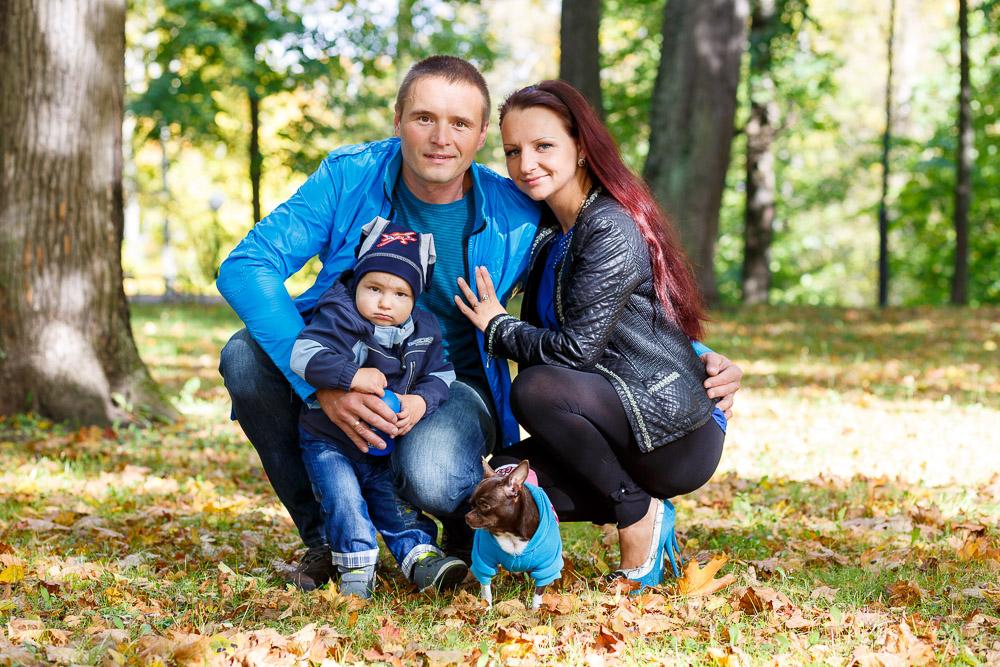 Veronika, Aleksei ning pisipoja Damir.© Mario Mesi | www.mario